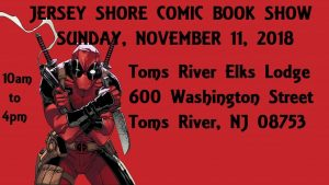 Jersey Shore Comic Book and Card Show @ Toms River Elks Lodge 1875 | Toms River | New Jersey | United States