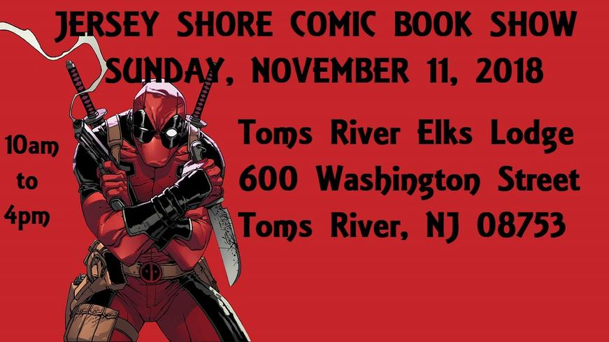 Jersey Shore Comic Book and Card Show