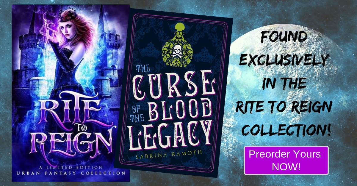 Cover & Blurb Reveal: The Curse of the Blood Legacy